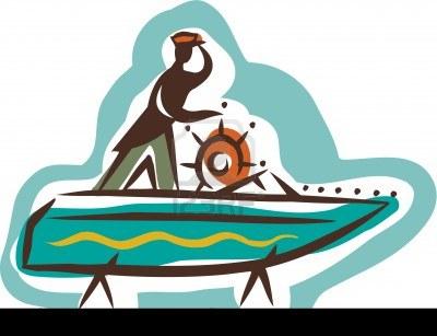 un-hombre-mirando-al-mar-mientras-que-dirigir-su-barco-en-tierra