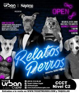 Poster relatos perros