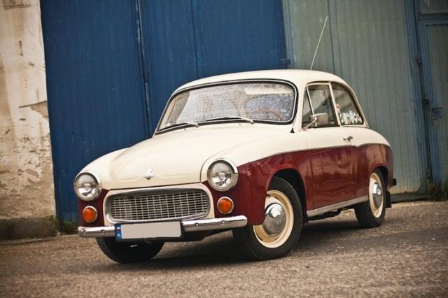 """FSO Syrena, el """"Auto del pueblo"""" polaco, el primer automóvil diseñado en Polonia"""