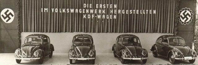 El KDF-Wagen, primera vez que un régimen populista usa un automóvil con fines políticos