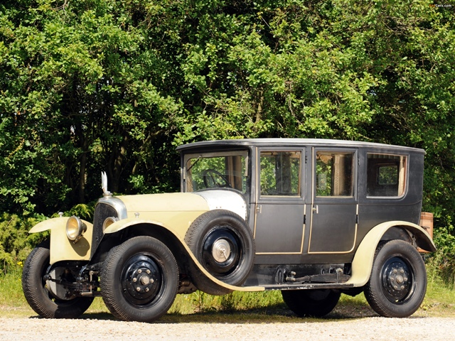 Chasis 804, Voisin C1 Chauffeur Limousine de 1919, el primer ejemplar totalmente construído en casa