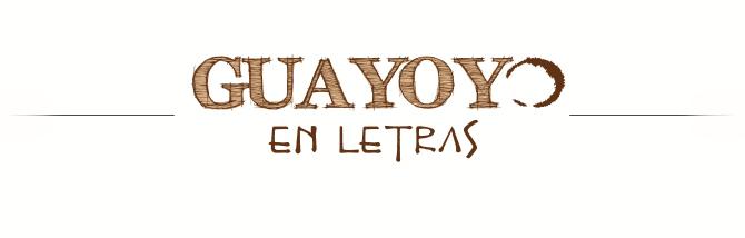 Guayoyo en Letras
